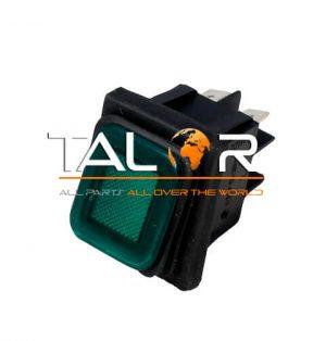 לחצן הפעלה ירוק 230V